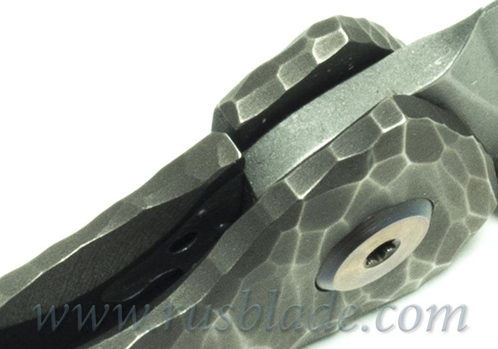 CKF Garza Dragon One-Off Custom Knife (S35VN, bearings)