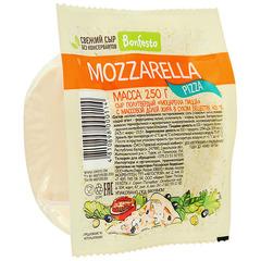 Сыр моцарелла Пицца «Bonfesto» 45%  250 гр