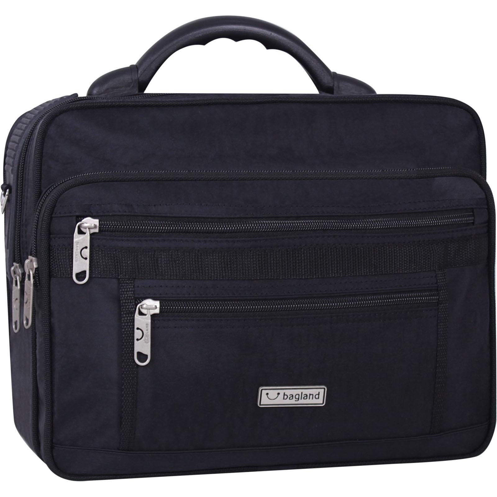 Сумки через плечо Мужская сумка Bagland Mr.Cool 15 л. Чёрный (0025170) IMG_9113-1600.jpg