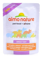 Паучи Almo Nature Daily Menu - Cat Chciken&Salmon