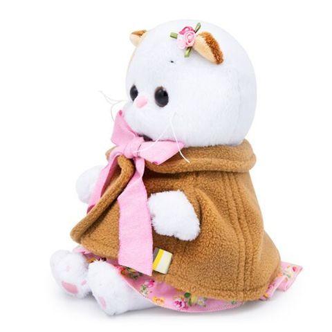 Ли-Ли Baby в накидке и розовом сарафане