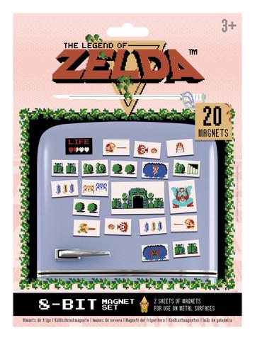 Магнит Pyramid: Nintendo: Zelda (Retro)
