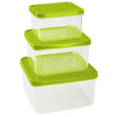 Набор контейнеров для прод. Vitamino/Amore квадрат 0,4л+0,7л+1,2л(GR1858)