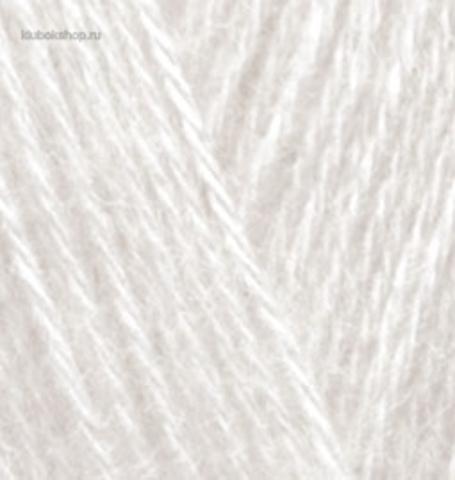 Пряжа Angora GOLD Alize 599 Слоновая кость - продажа в интернет-магазине недорого klubokshop.ru