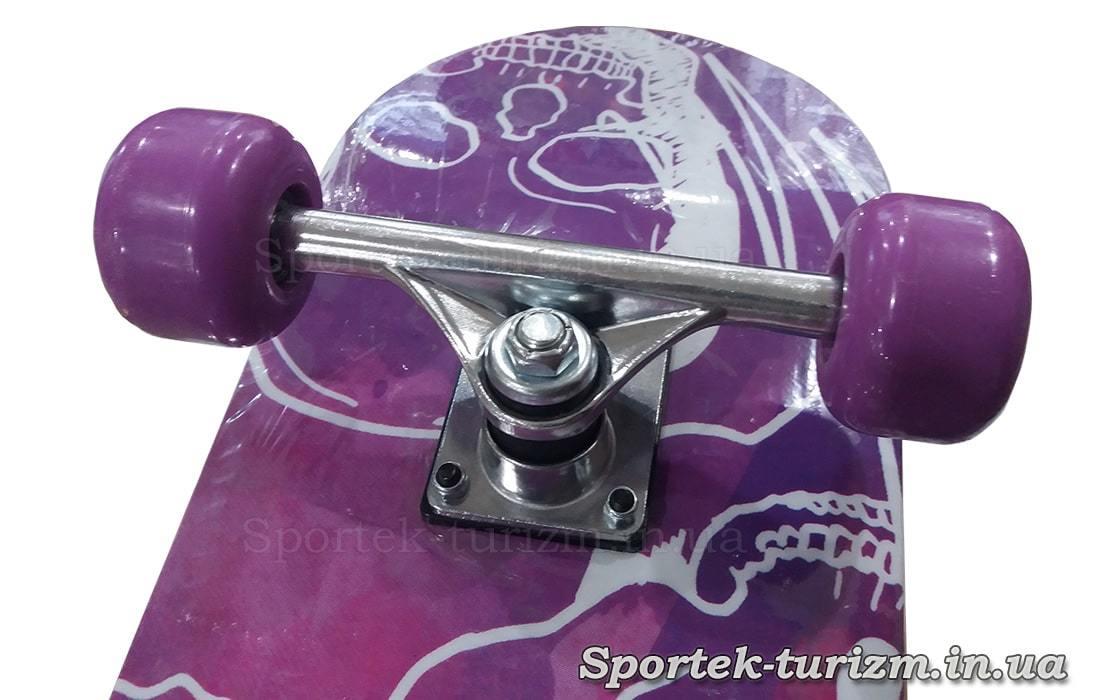 Ролики на скейтборде