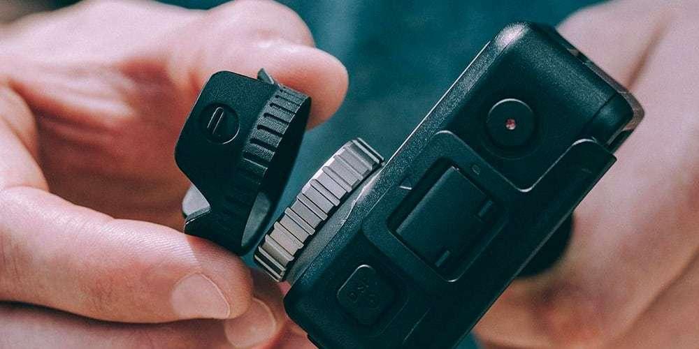 Бленда PGYTECH OSMO ACTION Lens Hood P-11B-016 снимает