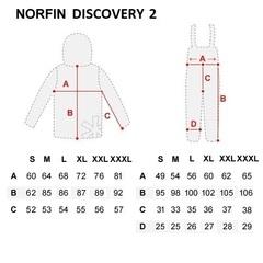 Костюм рыболовный зимний NORFIN Discovery 2, р. XL, арт. 452004-XL