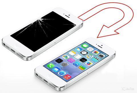 Замена стекла IPhone 5 5S 5SE 5C