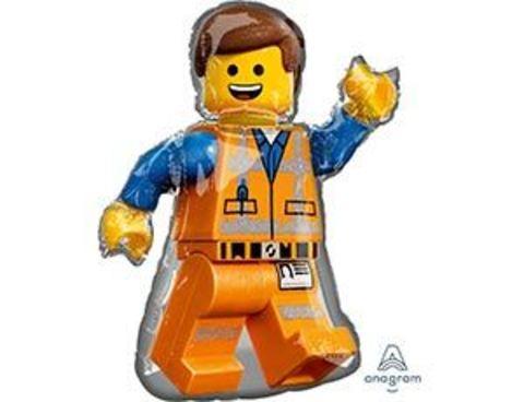 Фольгированный шар Лего Человечек Эммет