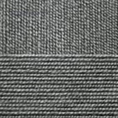 Пряжа Бисерная 96 Серый меланж Пехорка, фото