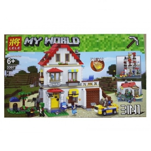 Конструктор Lele My World 33077 Дом на побережье