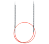 Круговые металлические супергладкие спицы c квадратным кончиком addiNovel
