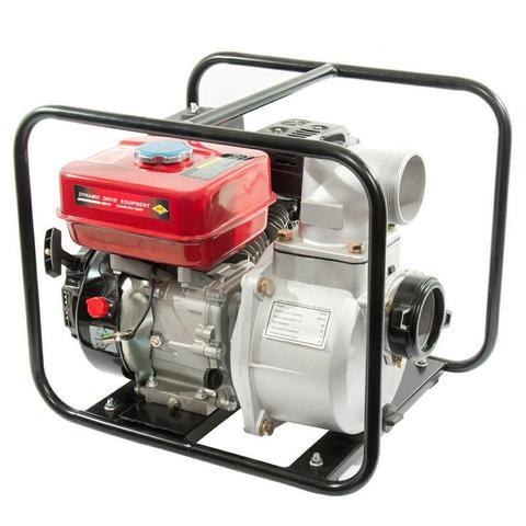 Мотопомпа бензиновая DDE PN80  (вых 80мм, 6.5лc,26м,,55 м куб/час, 3,6л,30кг)