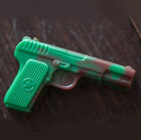 Мыло Пистолет. Пластиковая форма
