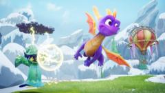 PS4 Spyro Reignited Trilogy (английская версия)