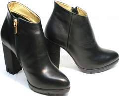 Модные женские ботильоны Jina 5992 Black
