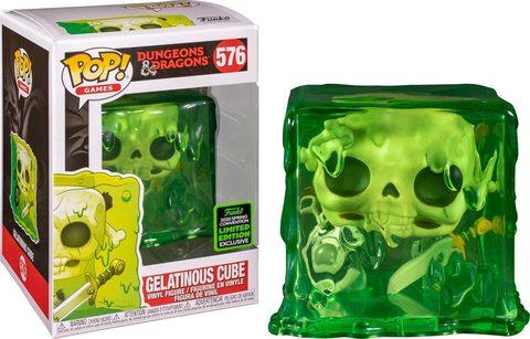 Dungeons and Dragons Gelatinous Cube Liited Edition Funko Pop!    Кубик Желатина