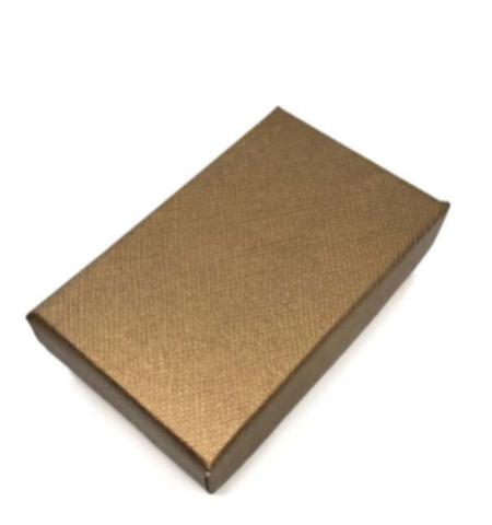 Подарочная коробка серебро/золото