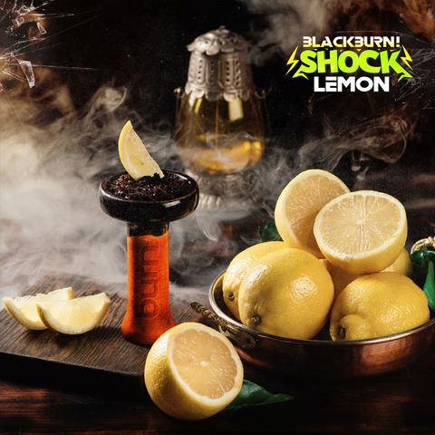 Табак Burn BLACK 20 г Lemon Shock