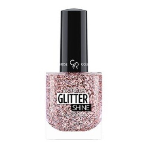 Гель-лак Glitter Shine Nail Lacquer Golden Rose, 209