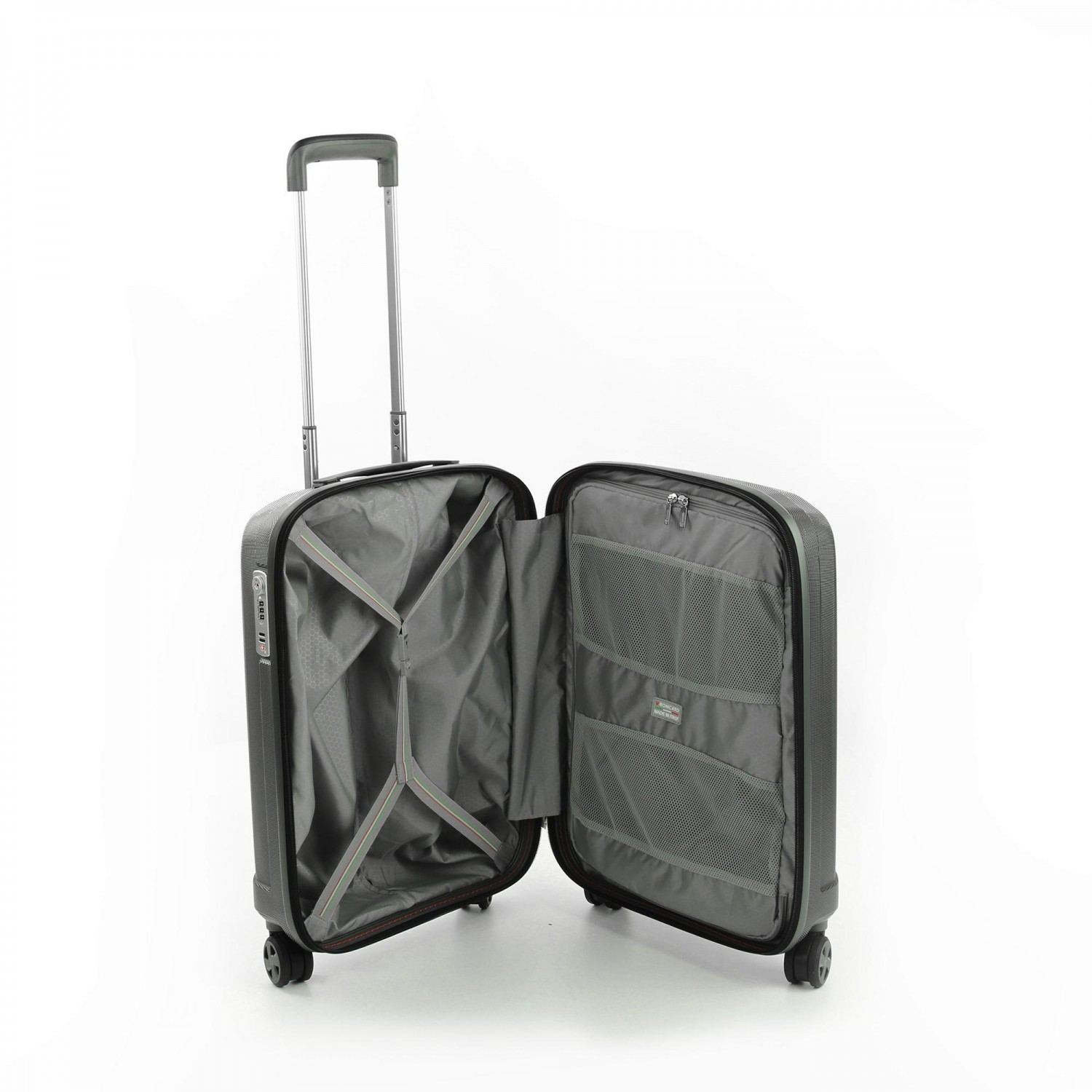 Чемодан пластиковый Roncato UNICA XS TROLLEY 55/20 CM ANTRACITE
