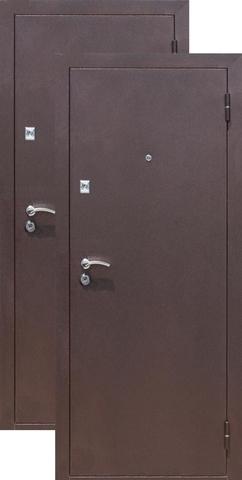 Дверь входная СтройГост Стройгост 7-2, 2 замка, 1 мм  металл, (медь антик+медь антик)