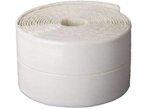 Лента бордюрная для ванн и раковин, STAYER Profi 12341-30-30, самоклеящаяся, профиль L, цвет белый, 30 х 30мм х 3,35м