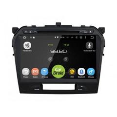 Штатная магнитола на Android 8.0 для Suzuki Vitara II 15+ Roximo CarDroid RD-3504