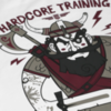 Футболка Hardcore Training Time to Raid White