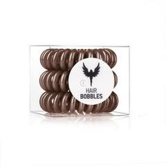 Силиконовая резинка для волос Hair Bobbles  - Коричневая