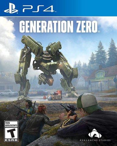 PS4 Generation Zero Стандартное издание (русская версия)