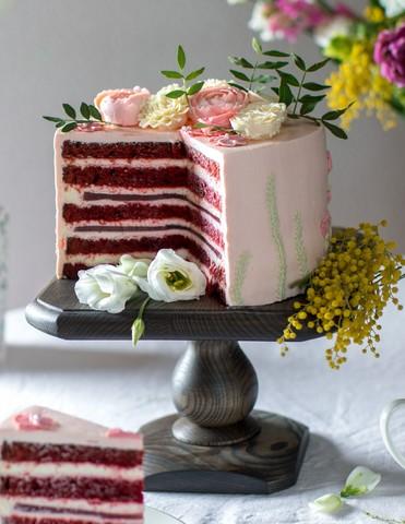Квадратная подставка для торта и капкейков