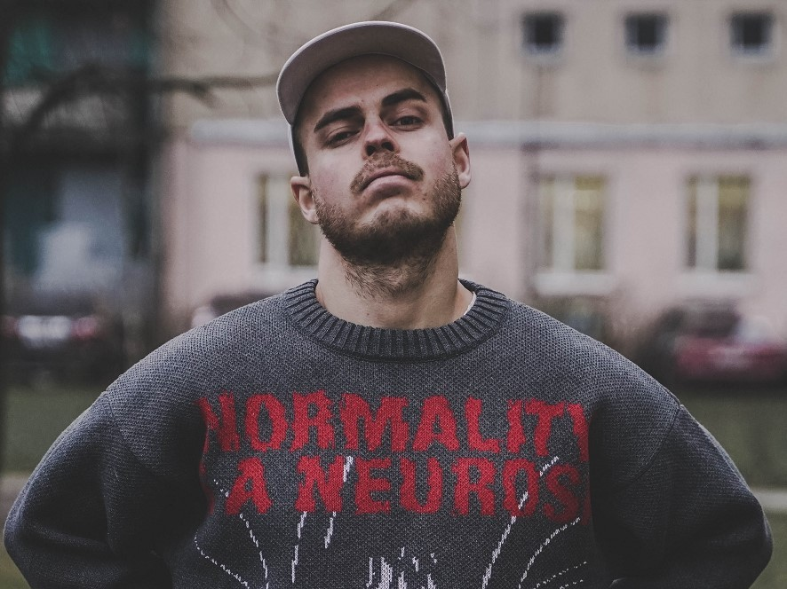 Normality is a neurosis / свитер