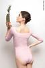Купальник 2 Рукава colour | розовый