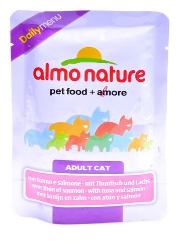 Паучи Almo Nature Daily Menu - Cat Tuna&Salmon