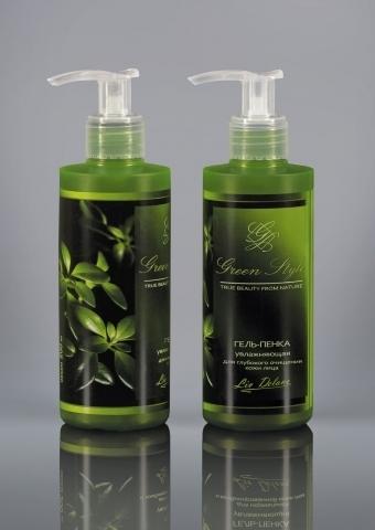 Liv-delano Green Style Гель-пенка увлажняющая для глубокого очищения 190г