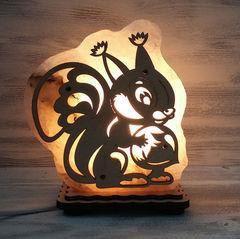 Солевая лампа Бельчонок 1,3 кг