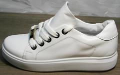 Женские низкие кеды Molly shoes 557 Whate