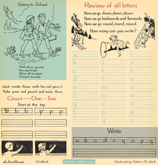 Лист двусторонней бумаги Workbook из коллекции