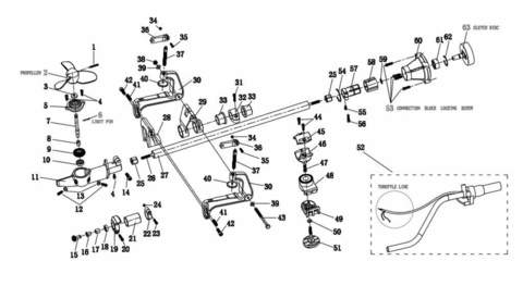 Датчик зажигания  для лодочного мотора T2 SEA-PRO