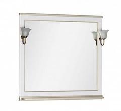 Зеркало Aquanet Валенса 100 белый краколет золото