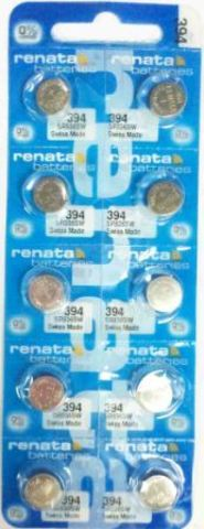 Элемент питания Renata 394 (SR936SW) 0%Hg BL-10/100