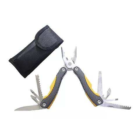 Мультитул Stinger  (MT-A605COY) желто-черный 9 инструментов нейлоновый чехол