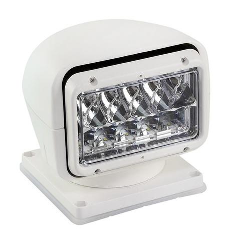 Прожектор светодиодный стационарный, с проводным и беспроводным пультом ДУ, белый (серия 220)