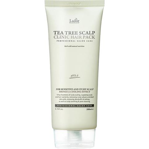 Маска для волос и кожи головы с чайным деревом LA'DOR Teatree Scalp Hair Pack 200 мл