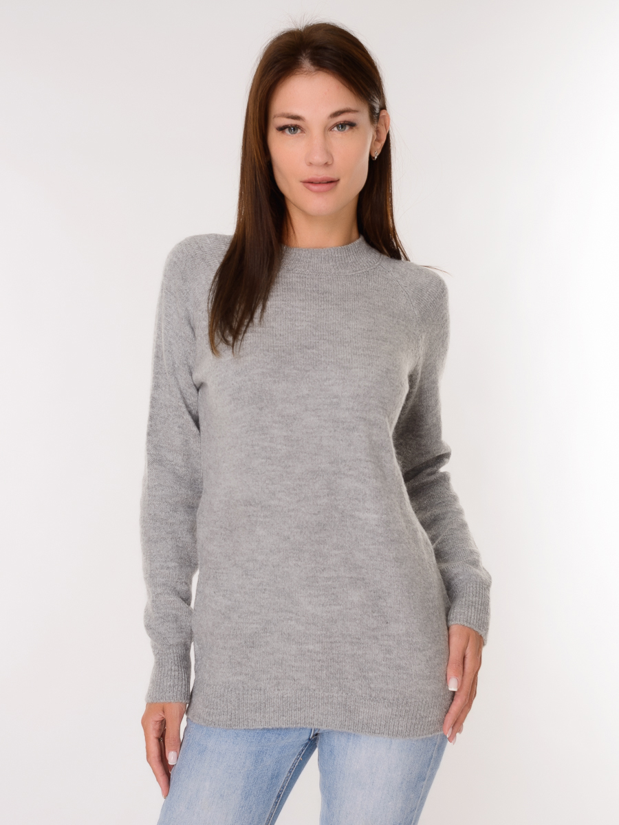 Свитер женский 900 - Серый - купить по выгодной цене | Kris-Opt.ru - интернет магазин женской, мужской, детской одежды и обуви
