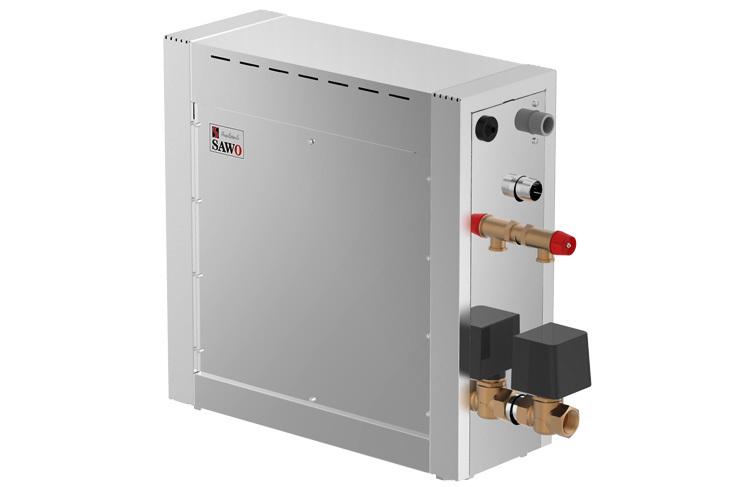 Парогенераторы: Парогенератор SAWO STN-120-3-DFP-X (без пульта управления с функцией диммера, вентилятора и насоса-дозатора, 12 кВт)