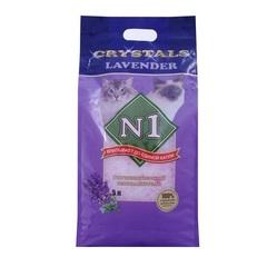 N1 Crystals Lavender силикагелевый впитывающий 5 л