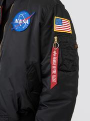 бомбер Alpha Industries Apollo MA-1 black