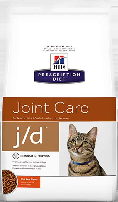 Сухой корм Ветеринарный корм для кошек, Hill`s Prescription Diet  j/d Joint Care, для здоровья суставов, с курицей жд.png